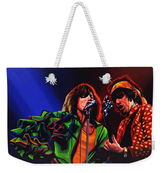 The Rolling Stones 2 Weekender Tote Bag