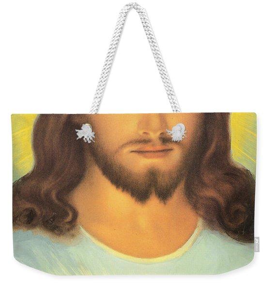 The Sacred Heart Of Jesus Weekender Tote Bag