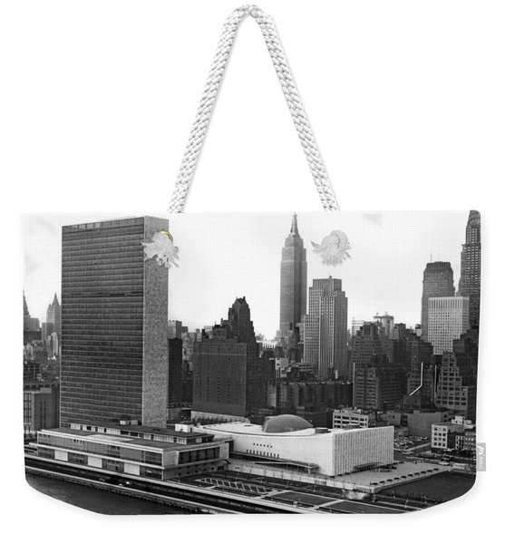 The United Nations Building Weekender Tote Bag