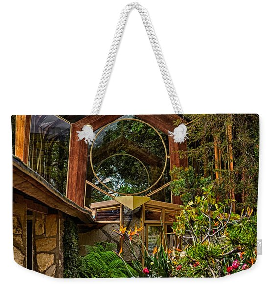 The Wayfarers Chapel Weekender Tote Bag