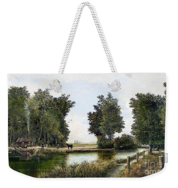 The Woodman Weekender Tote Bag