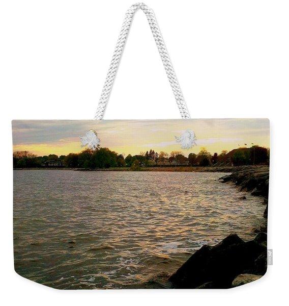 Thunder Bay Michigan Weekender Tote Bag