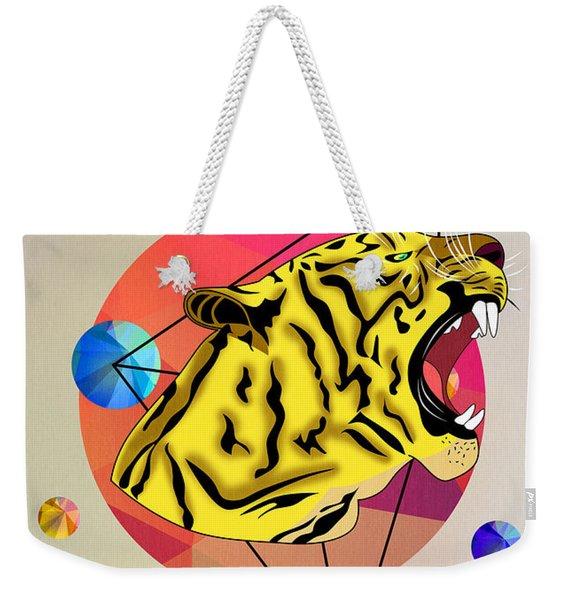 Tiger 12 Weekender Tote Bag
