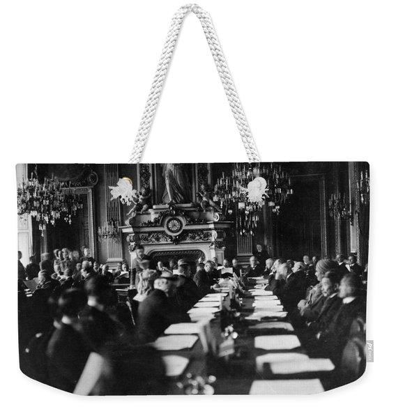 Treaty Of Versailles, 1919 Weekender Tote Bag