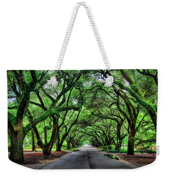 Tunnel Of Oaks Weekender Tote Bag