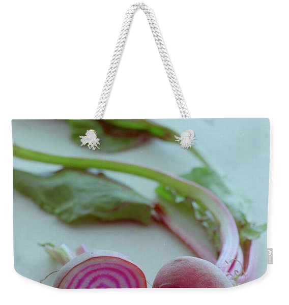 Two Chioggia Beets Weekender Tote Bag