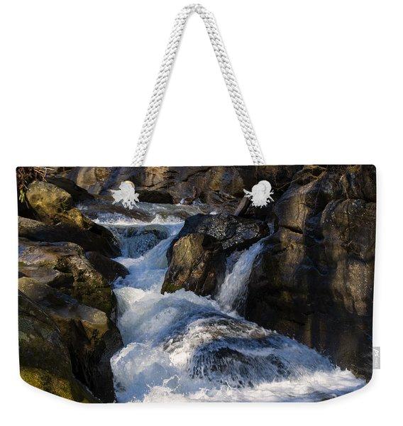 unnamed NC waterfall Weekender Tote Bag