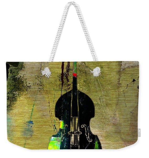 Upright Bass Weekender Tote Bag
