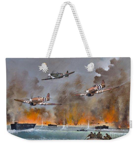 Utah Beach- June 6th 1944 Weekender Tote Bag