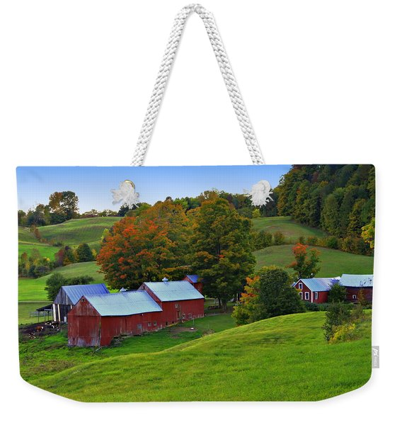 Vermont's Jenne Farm Weekender Tote Bag