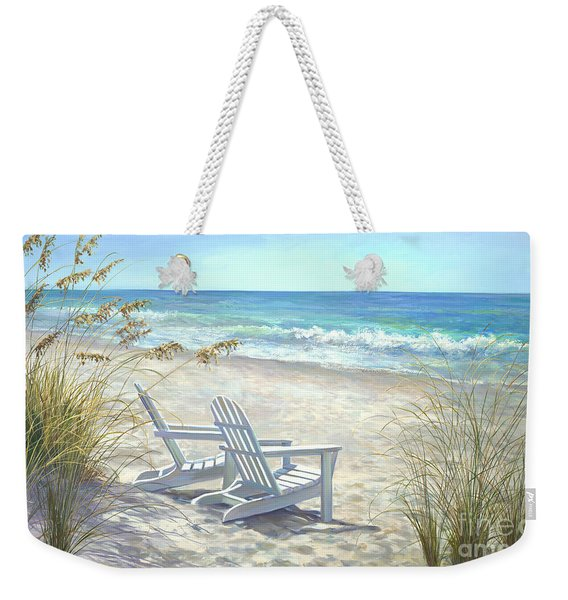 View For Two. Weekender Tote Bag