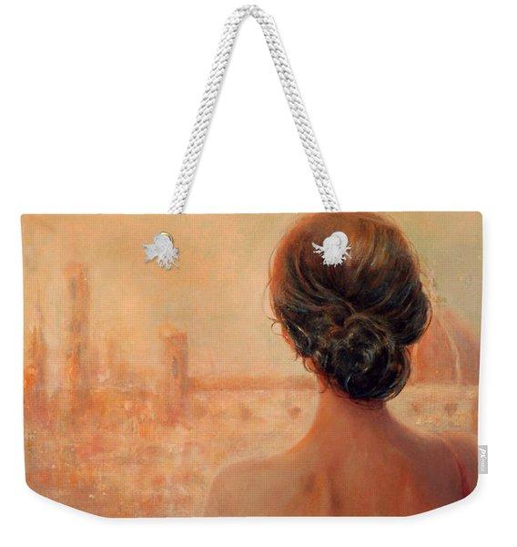 Visions Of Florence Weekender Tote Bag