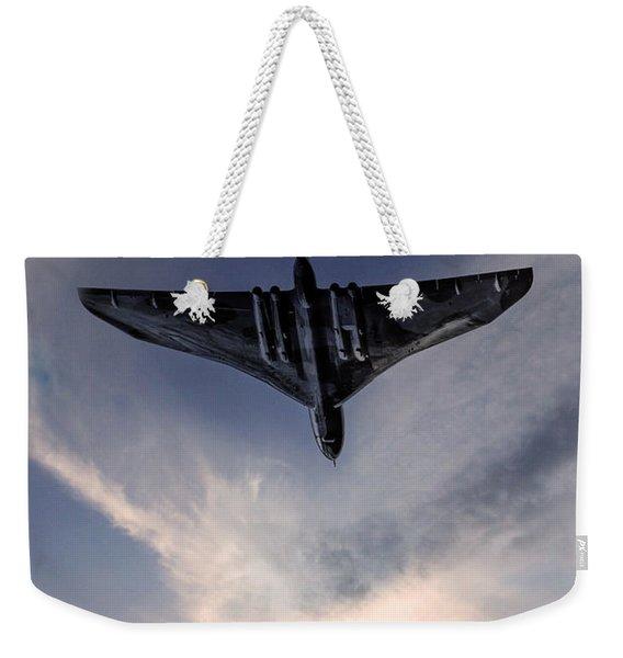 Vulcan Bomber Weekender Tote Bag