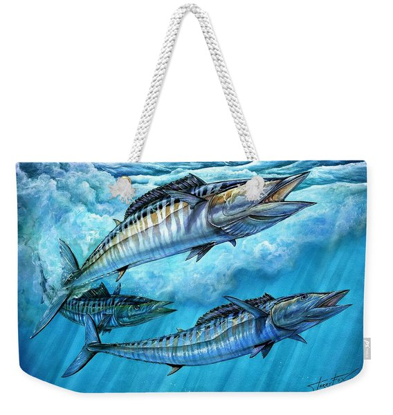 Wahoo In Freedom Weekender Tote Bag