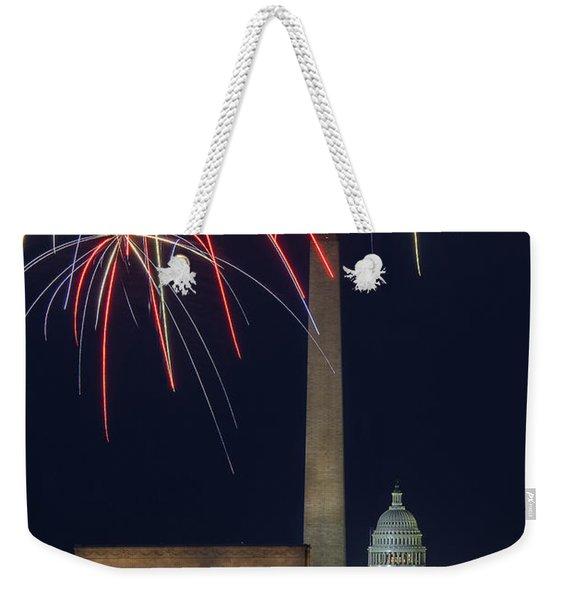 Washington Dc Fourth 3 Weekender Tote Bag