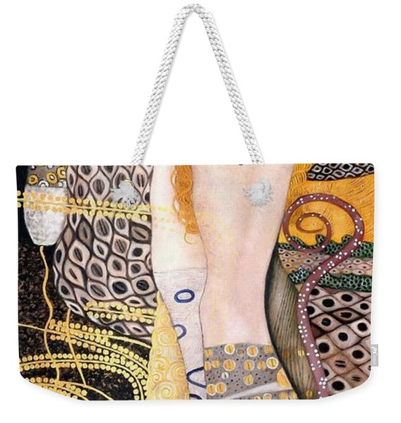 Water Serpents I Weekender Tote Bag