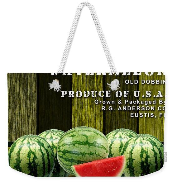 Watermelon Farm Weekender Tote Bag