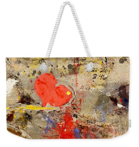 We All Bleed The Same Color II Weekender Tote Bag