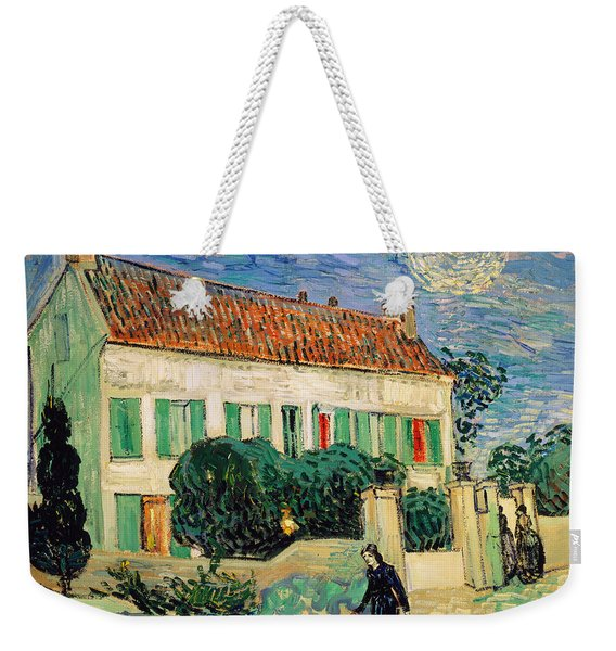 White House At Night Weekender Tote Bag