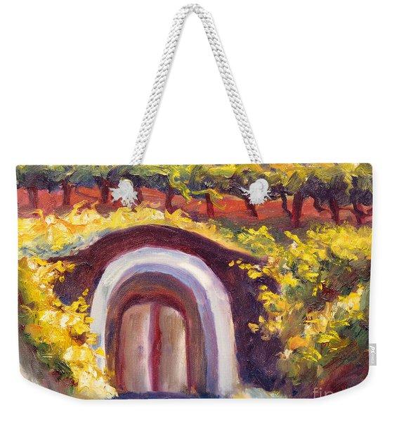 Wine Cave Weekender Tote Bag