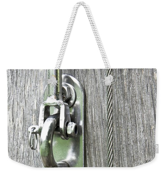 Wire Cable Weekender Tote Bag