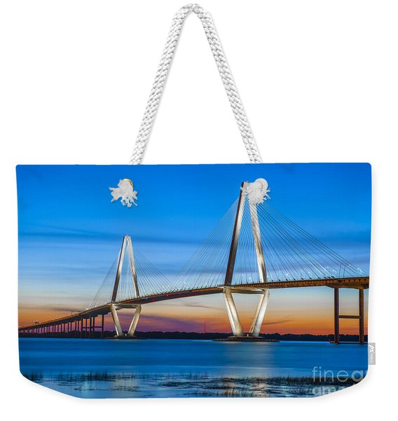 Charleston Arthur Ravenel Bridge Weekender Tote Bag