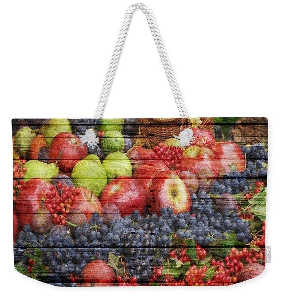 Fruit Weekender Tote Bag