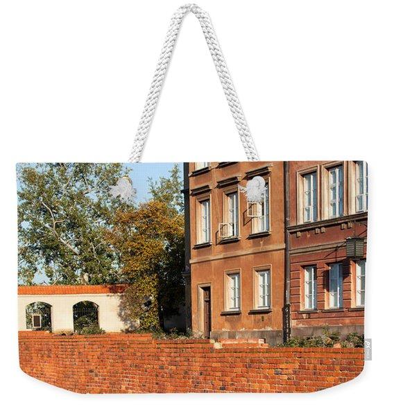 Old Town In Warsaw Weekender Tote Bag