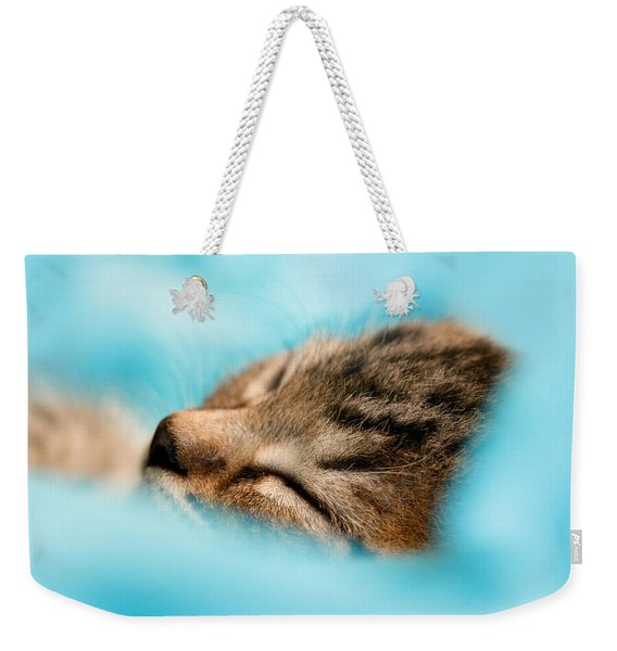 100pct  Innocence  Baby Kitten Weekender Tote Bag