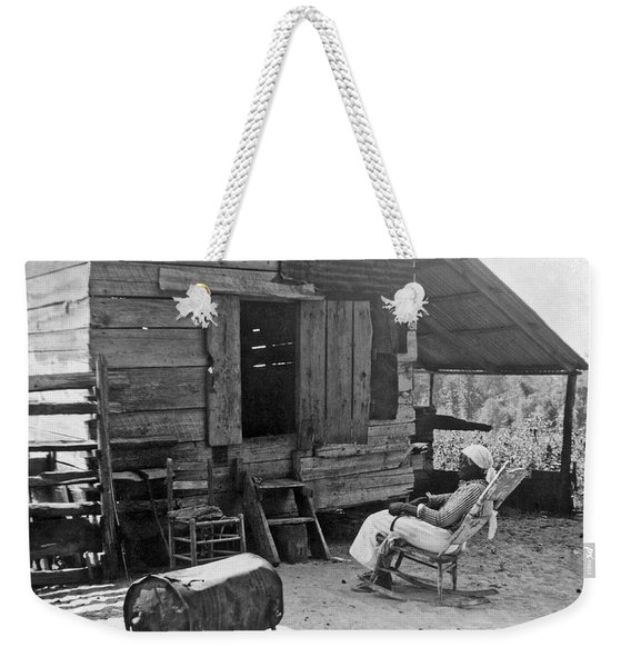 102 Year Old Woman At Her Home Weekender Tote Bag