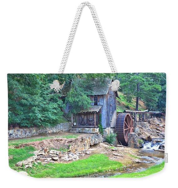 Sixes Mill On Dukes Creek Weekender Tote Bag
