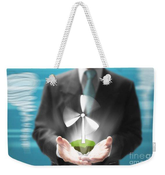 Business Abstract Weekender Tote Bag