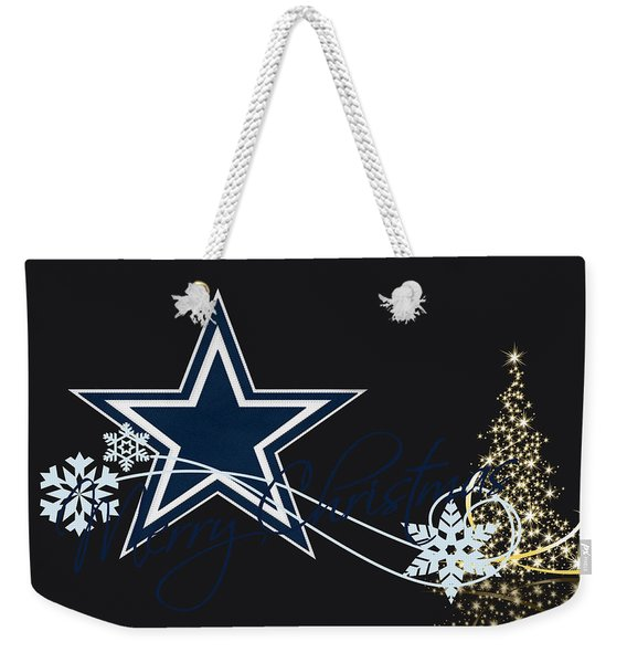 Dallas Cowboys Weekender Tote Bag
