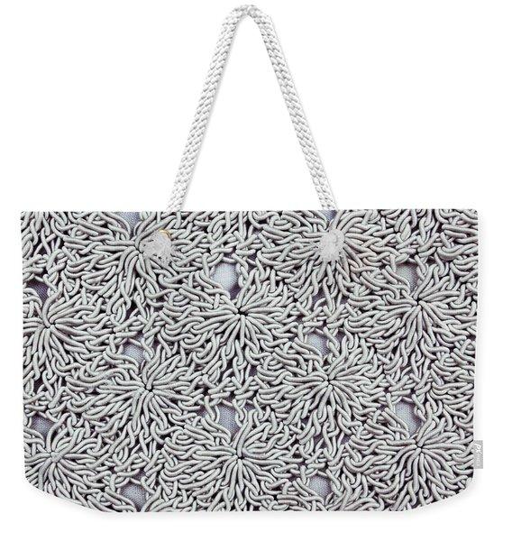 Fabric Background Weekender Tote Bag