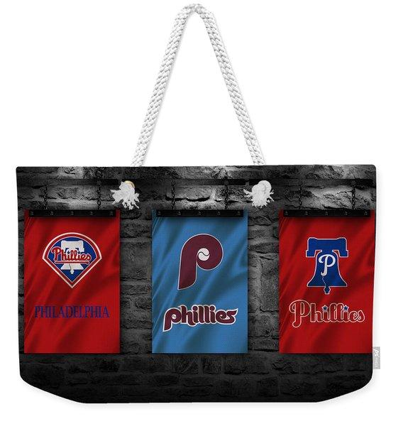 Philadelphia Phillies Weekender Tote Bag