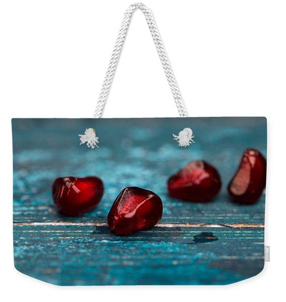 Pomegranate Weekender Tote Bag
