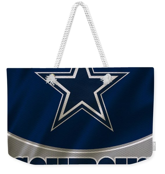 Dallas Cowboys Uniform Weekender Tote Bag
