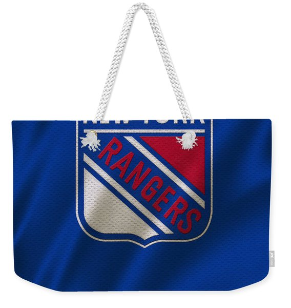 New York Rangers Weekender Tote Bag