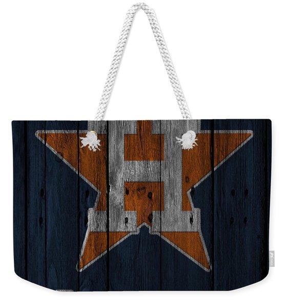 Houston Astros Weekender Tote Bag