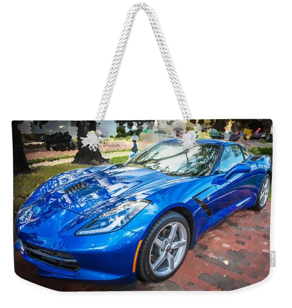 2014 Chevrolet Corvette C7 Weekender Tote Bag