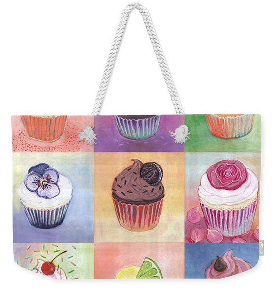 15 Cupcakes Weekender Tote Bag