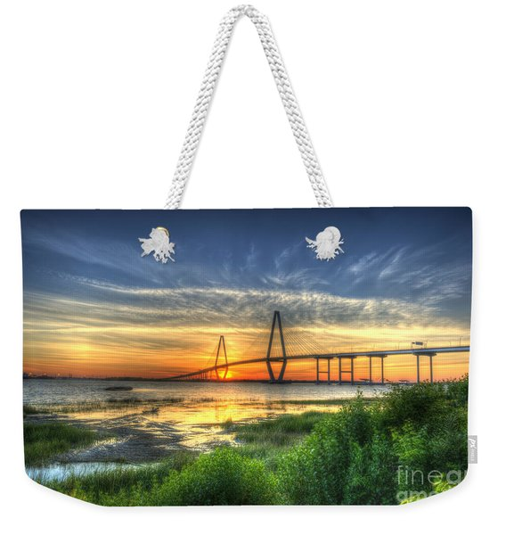 Lowcountry Sunset Weekender Tote Bag