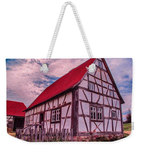 1700s German Farm Weekender Tote Bag