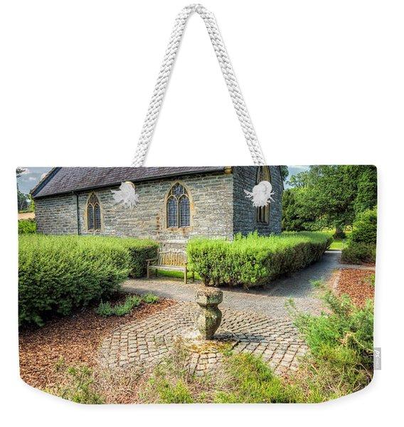17th Century Church Weekender Tote Bag