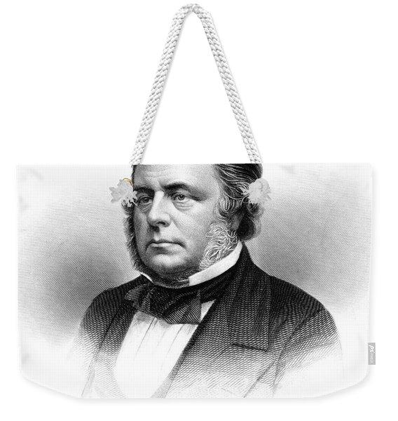 1800s 1860s John Bright British Member Weekender Tote Bag