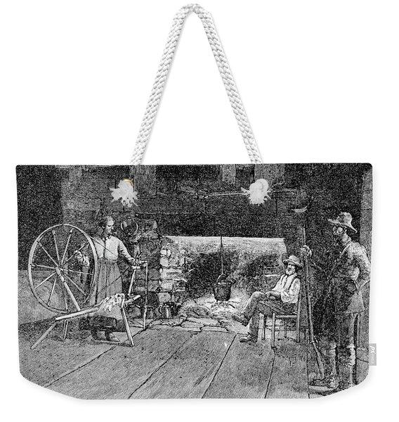 1800s Interior Of Tennessee Weekender Tote Bag