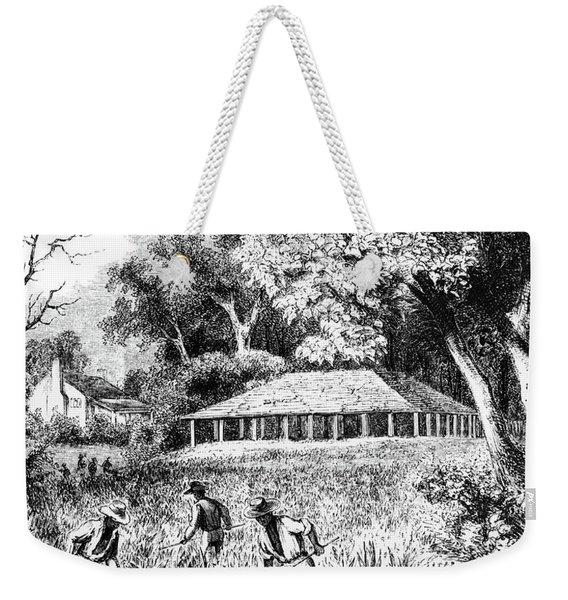 1800s Three African American Men Field Weekender Tote Bag