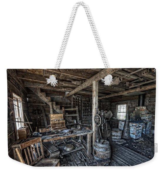 1860's Blacksmith Shop - Nevada City Ghost Town - Montana Weekender Tote Bag