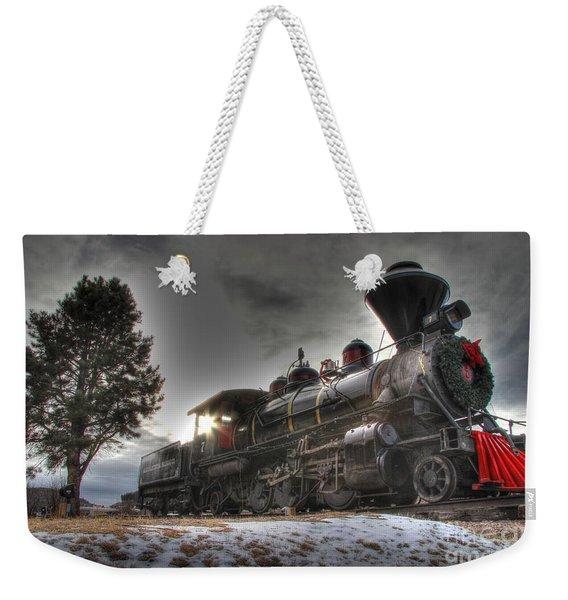 1880 Train Weekender Tote Bag