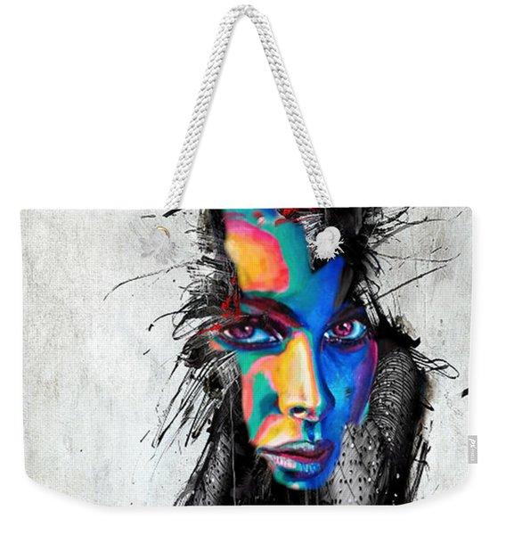 Facial Expressions Weekender Tote Bag